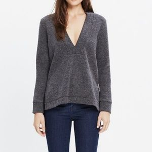 Madewell Low-V pullover top